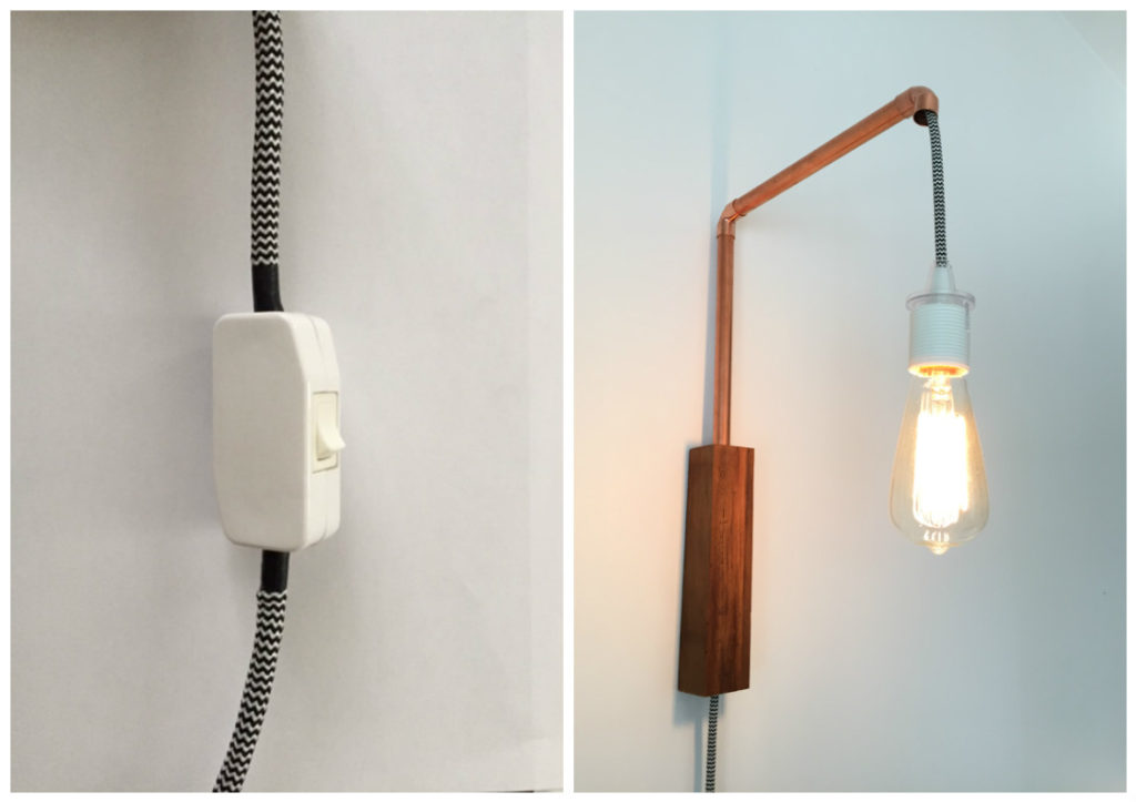 How to add an inline lamp cord switch | DIY Montreal