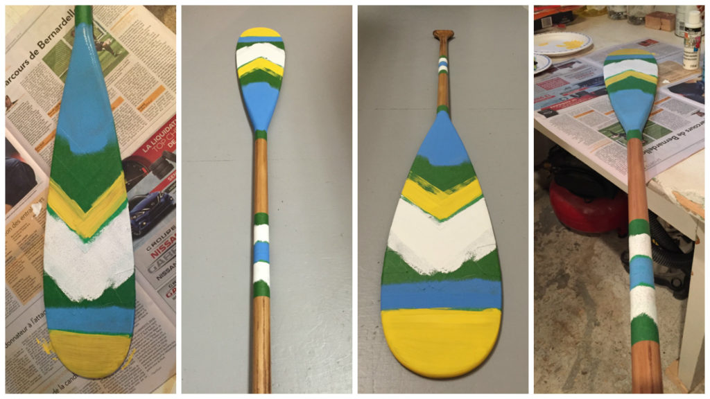 Nautical Painted Oar