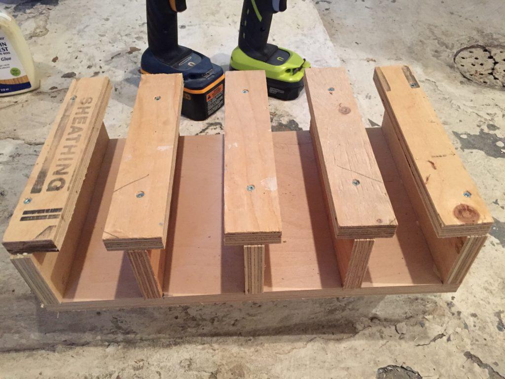 cordless drill storage dock