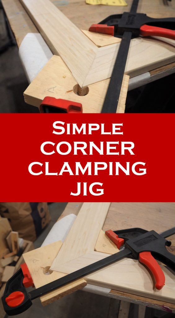 in my last build i made a really large wood picture frame with splines and i thought iu0027d share how i made a super simple corner clamping jig to clamp and