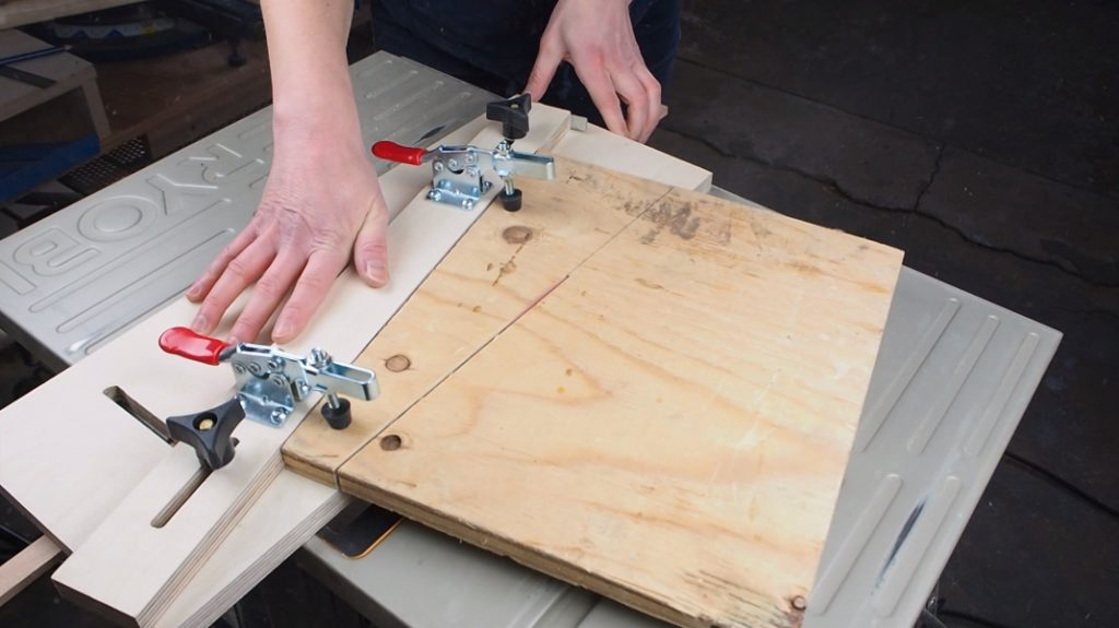 How To Make A Tapering Jig For The Table Saw Diy Montreal