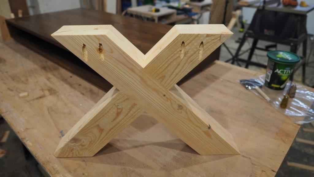 X Leg Coffee Table Diy Montreal