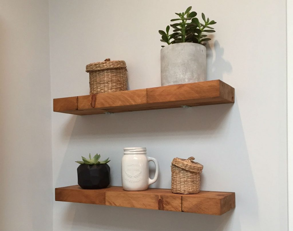 Butcher Block Floating Shelf Diy Montreal