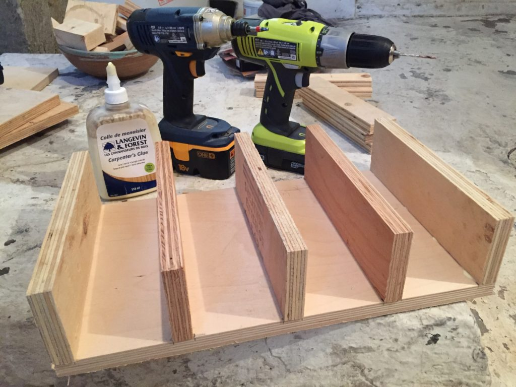 How To Make A Drill Rack Diy Montreal