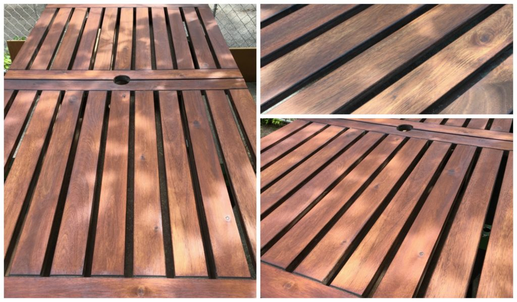Refinishing Ikea Wooden Outdoor Patio Furniture Diy Montreal