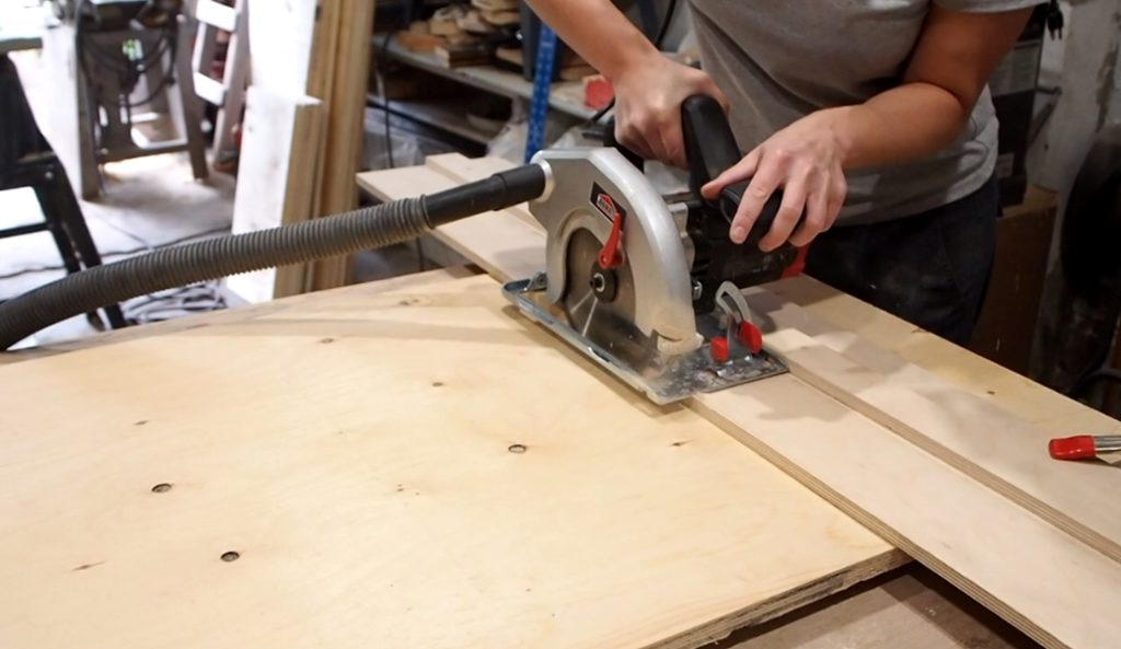 How To Build A Circular Saw Guide Track Saw Diy Montreal