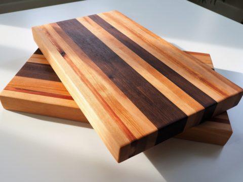 Making a wooden cutting board