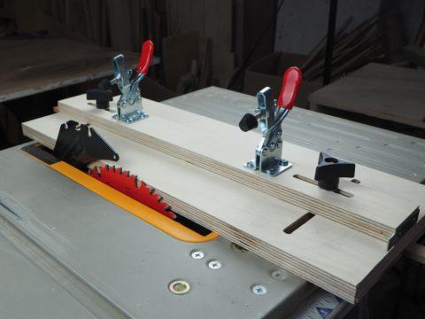 DIY jointing sled