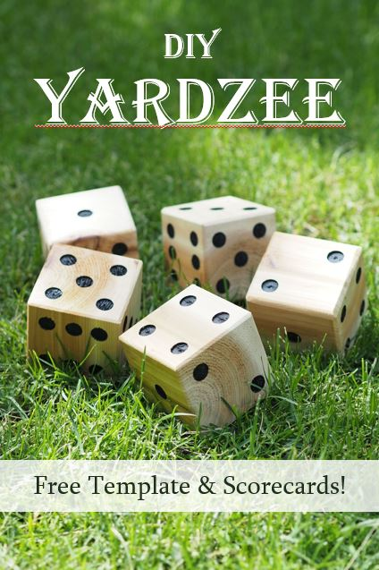 photograph relating to Yardzee Score Card Printable Free known as Do it yourself Yardzee Backyard Cube Totally free Template and Scorecards Do it yourself