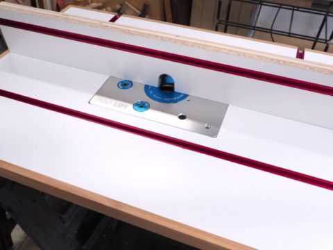 How to build a router table and fence