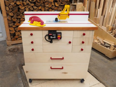 DIY Router Cabinet - Finished Build