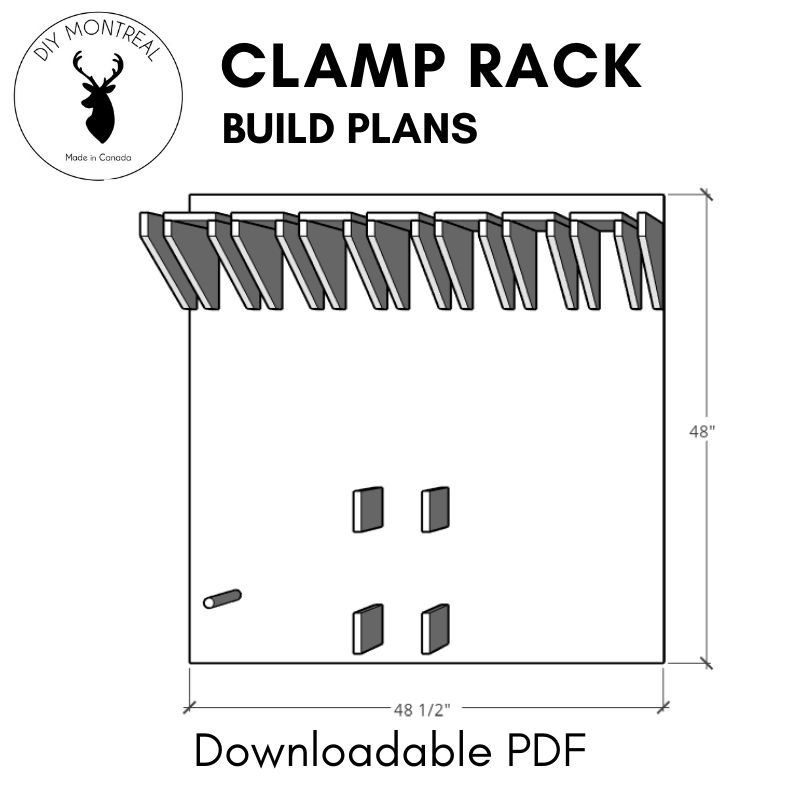 Clamp Rack Plans